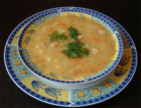 как варить гороховый суп с курицей рецепт #15