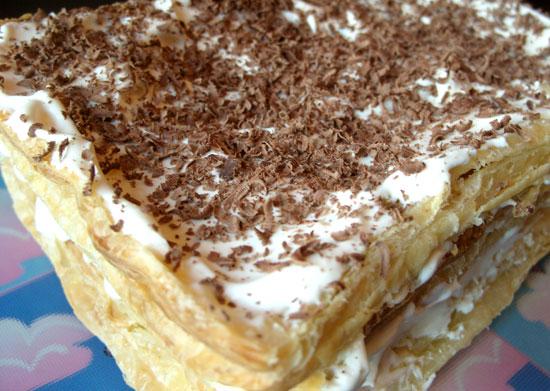 Торт наполеон выпечка на перекус