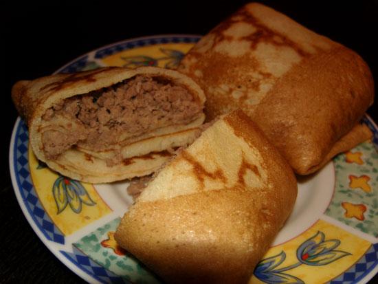 рецепты с фото блинчики с мясом